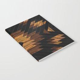 Urban Tribal Pattern 7 - Aztec - Wood Notebook