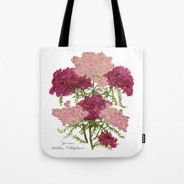 Yarrow: Achillea Millefolium Tote Bag