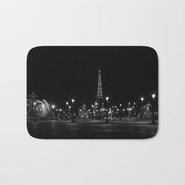 The Eiffel Tower From Place de la Concorde Bath Mat