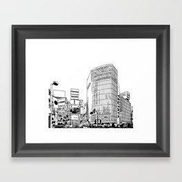 Tokyo - Shibuya Framed Art Print