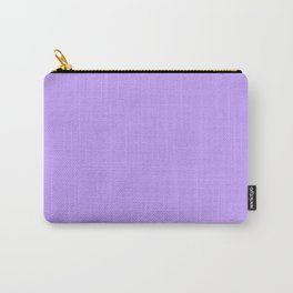 Lilac Purple Plain Carry-All Pouch