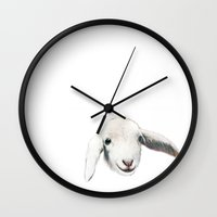 baby Wall Clocks featuring baby by Кaterina Кalinich