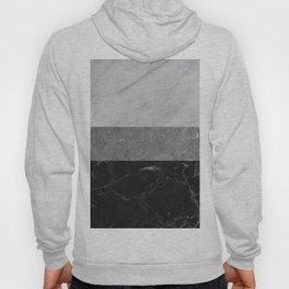 Marble - White, Grey, Black Hoody