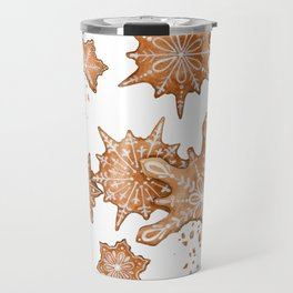 Gingerbread Cookie Blizzard Travel Mug