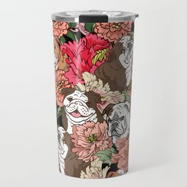 Because English Bulldog Travel Mug