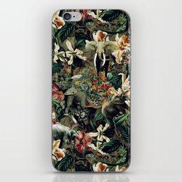 Elephants Camouflage iPhone Skin