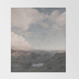 Moonchild - Landscape Photography Throw Blanket