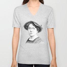 Emma Goldman Unisex V-Neck