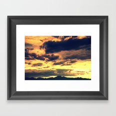 Summer Sunset II Framed Art Print
