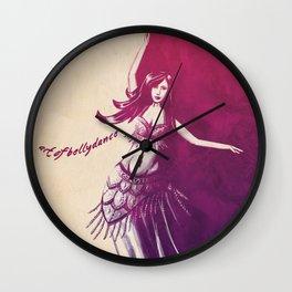 'Art of Bellydance' Wall Clock