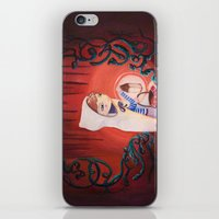 uncharted iPhone & iPod Skins featuring Uncharted by Sarah Calvillo