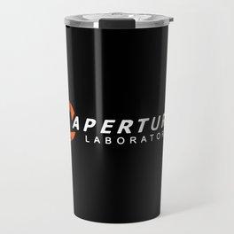 aperture laboratories Travel Mug