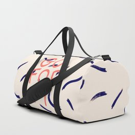 GO FOR IT #society6 #motivational Duffle Bag