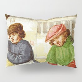 Medieval cleaning Pillow Sham