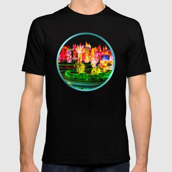 City Lights In Christmas - Painting Style T-shirt
