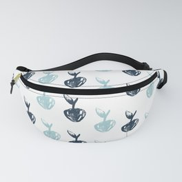 Cherry - Blue Fanny Pack