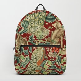 "William Morris ""Forest"" 2. Backpack"