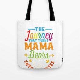 Autism Mom Mama Bear Gift - Autism Awareness Month Tote Bag