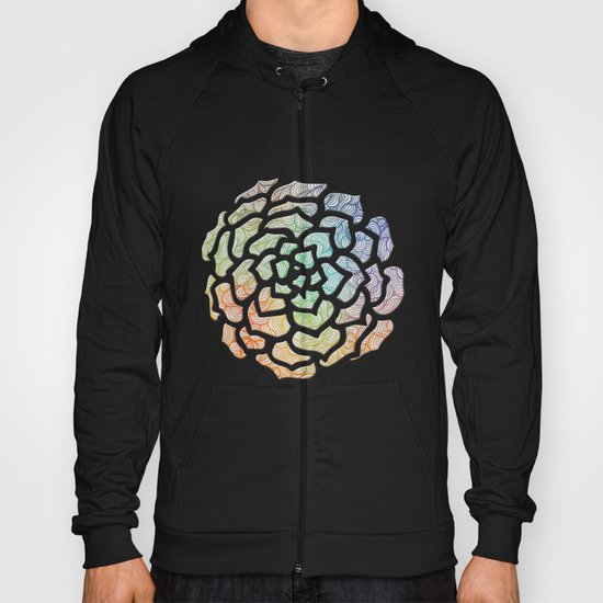 Abstract Roses 2 Hoody