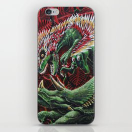 Murder in the Mesozoic iPhone Skin
