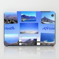 south africa iPad Cases featuring South Africa Landscape by Art-Motiva