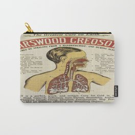 Vintage poster - Karswood Creosote Carry-All Pouch