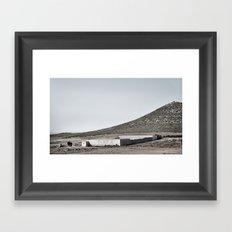inhale andaluz #4 Framed Art Print