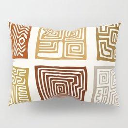 African Ceremonial Pattern Pillow Sham