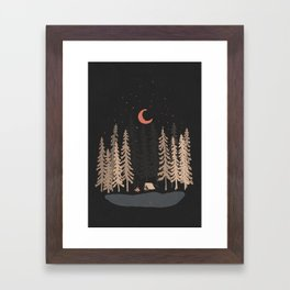 Feeling Small... Framed Art Print