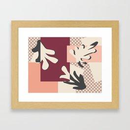 Finding Matisse pt.2 #society6 #abstract #art Framed Art Print