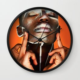 F*ck the world. Wall Clock