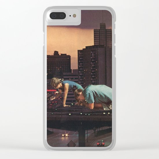 atlanta Clear iPhone Case