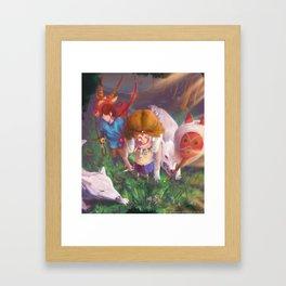 Princess Mononokkkkkkkkke Framed Art Print