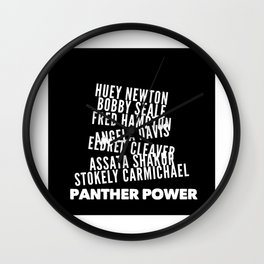Panther Power Wall Clock