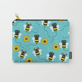Spring Pugs Carry-All Pouch