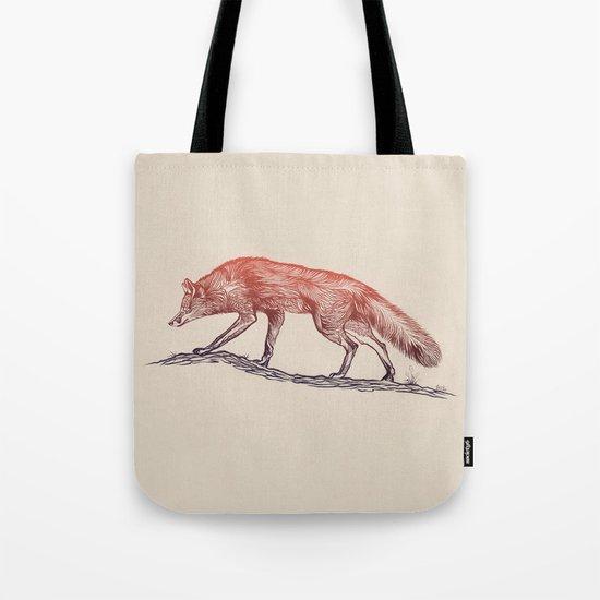 Hunting Fox Tote Bag