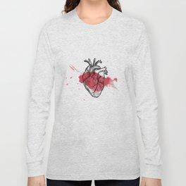 Anatomical heart - Art is Heart  Long Sleeve T-shirt