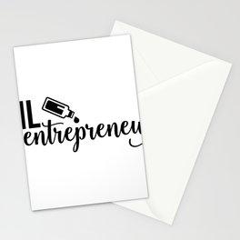 CUTE PRETTY ESSENTIAL OIL DIFFUSER printS - OIL DEALER Stationery Cards