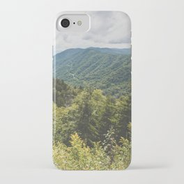 Smoky Mountain Haven - Nature Photography iPhone Case