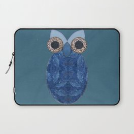 The Denim Owl #02 Laptop Sleeve