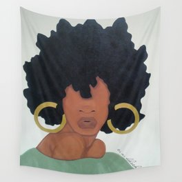 Poised. Wall Tapestry
