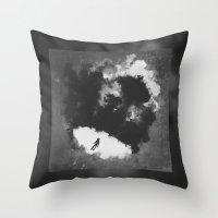 portal Throw Pillows featuring Portal by Stephan Brusche