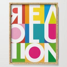 Positive ART REVOLUTION Serving Tray