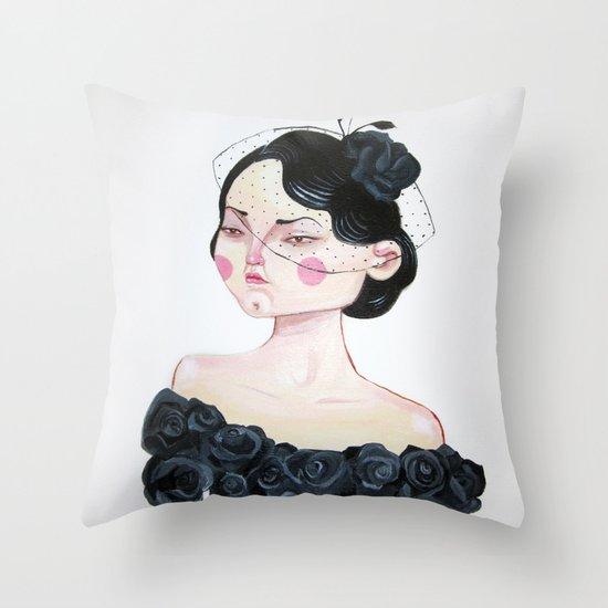 Despecho/Spite Throw Pillow