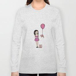 The cat balloon Long Sleeve T-shirt
