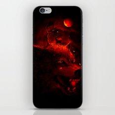 Red Dream iPhone Skin