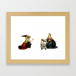 Annunciation of Our Lady Framed Art Print