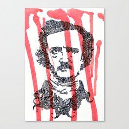 The Poe Canvas Print