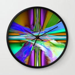 speed boat II Wall Clock