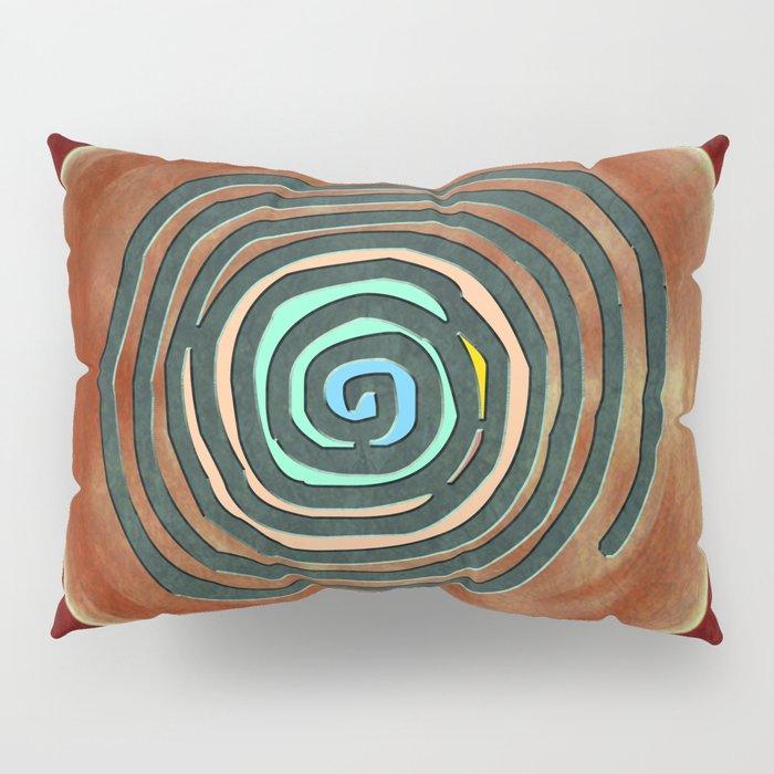 Tribal Maps - Magical Mazes #02 Pillow Sham